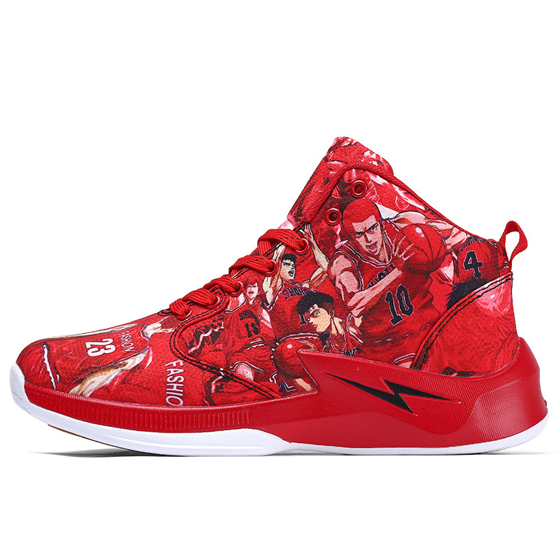 Fashion handsome basketball shoes