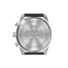 lyon silver grey watch for men