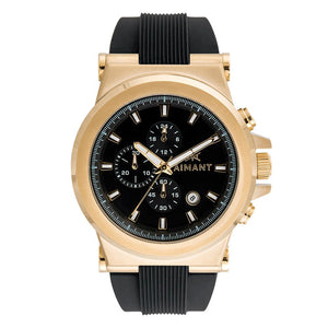 monaco gold black watch for men