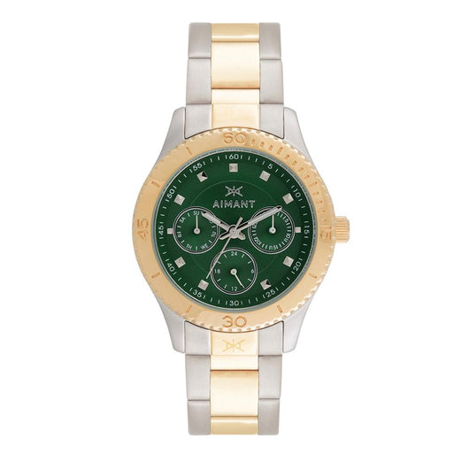 dakota silver gold women's watch