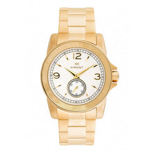 women's madison gold white watch