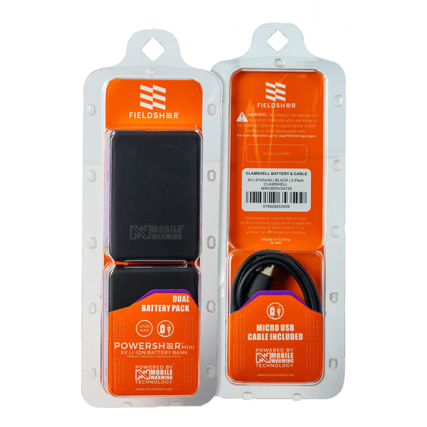 Mobile Warming Technology Battery 5V Glove Battery 2 Pack Heated Clothing