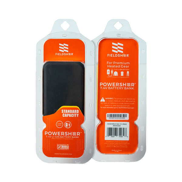 7.4v Powersheer™ Standard Battery & Cable
