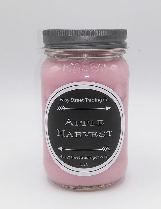 Soy jar candle apple harvest