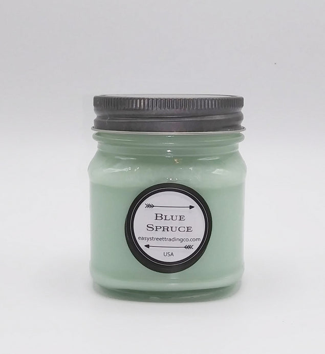 Blue Spruce Jar Candle