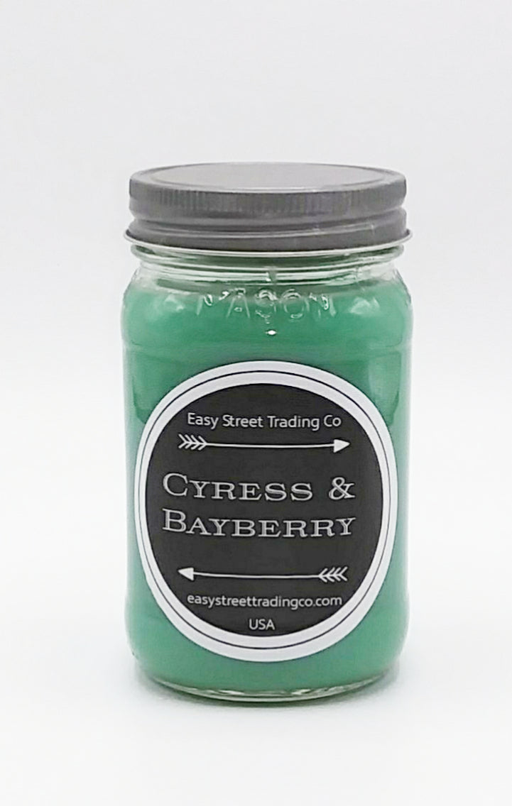 Cypress Bayberry Jar Candle