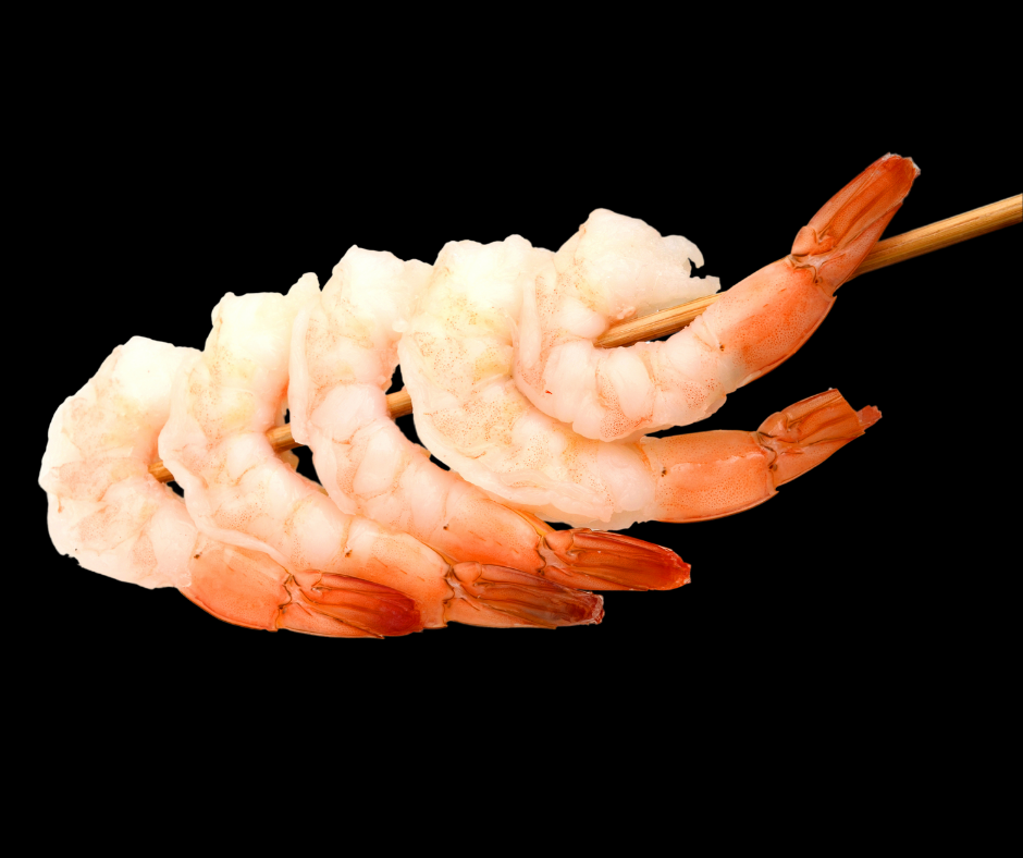 Shrimp 21/25 Import Cooked Peeled/Deveined-Tail On I.Q.F. 2 lb Bag - Fresh Fish Fast
