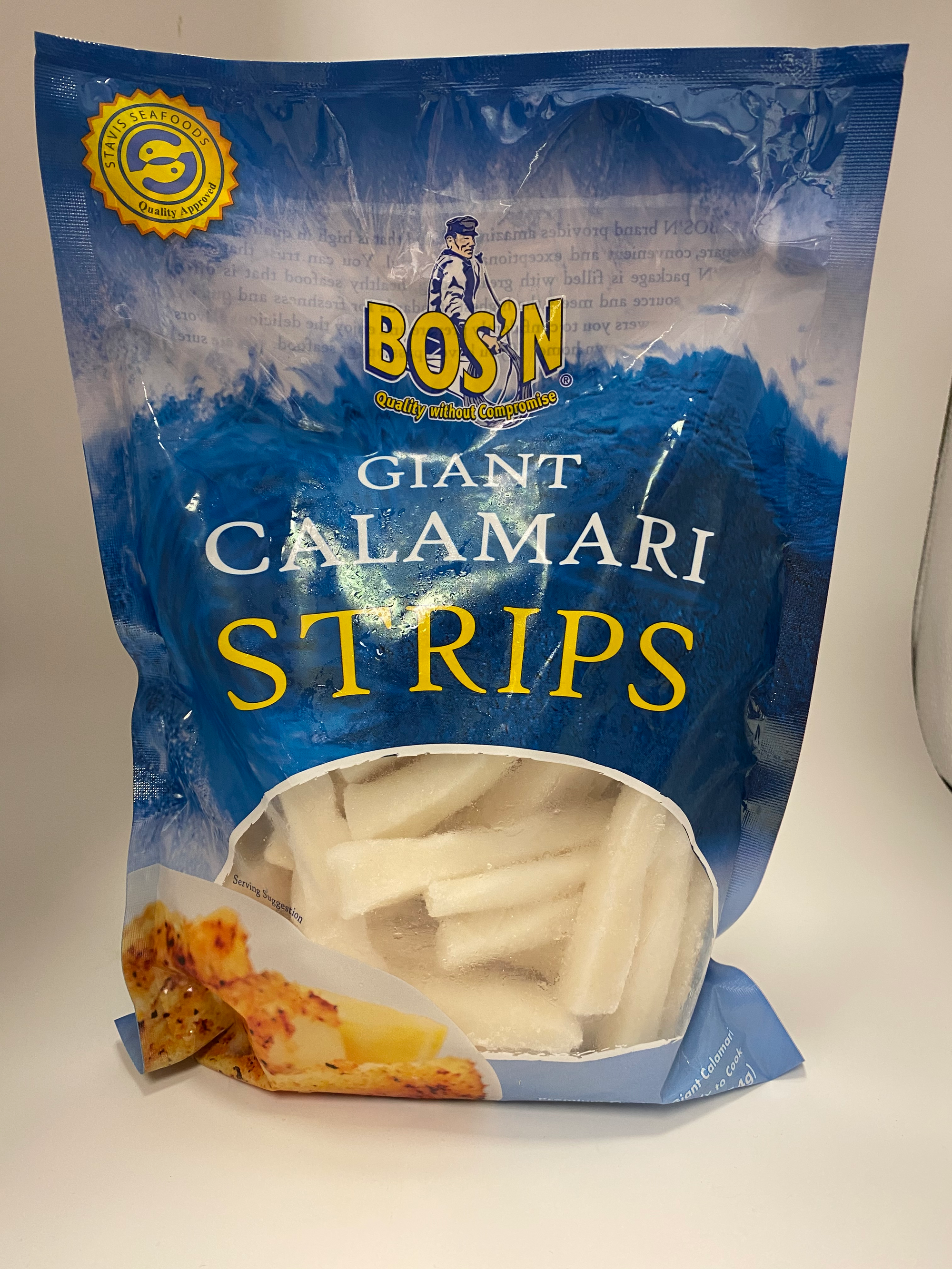 Giant Calamari Strips - Fresh Fish Fast