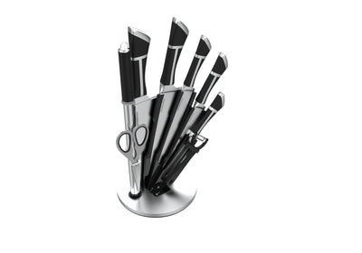 9 PIECE T HANDLE KNIFE SET