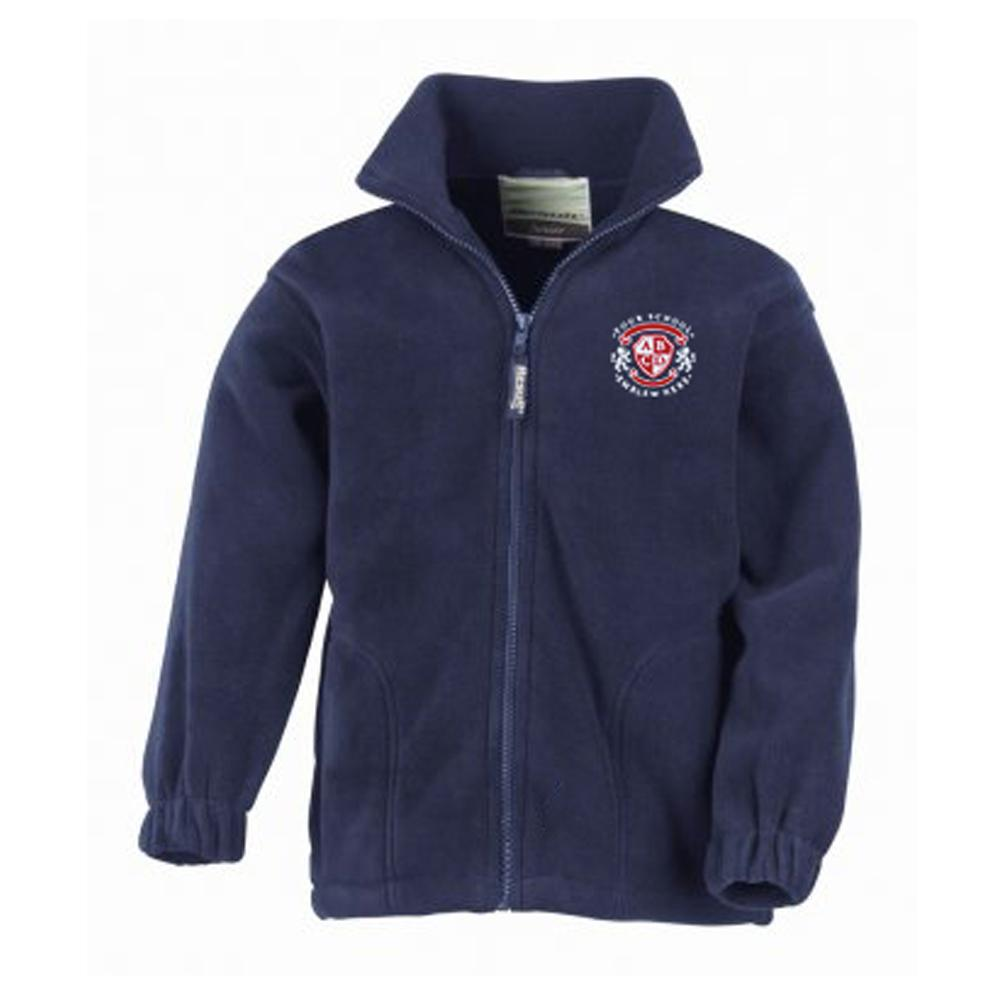 St Marys Cof E School Fleece - Navy