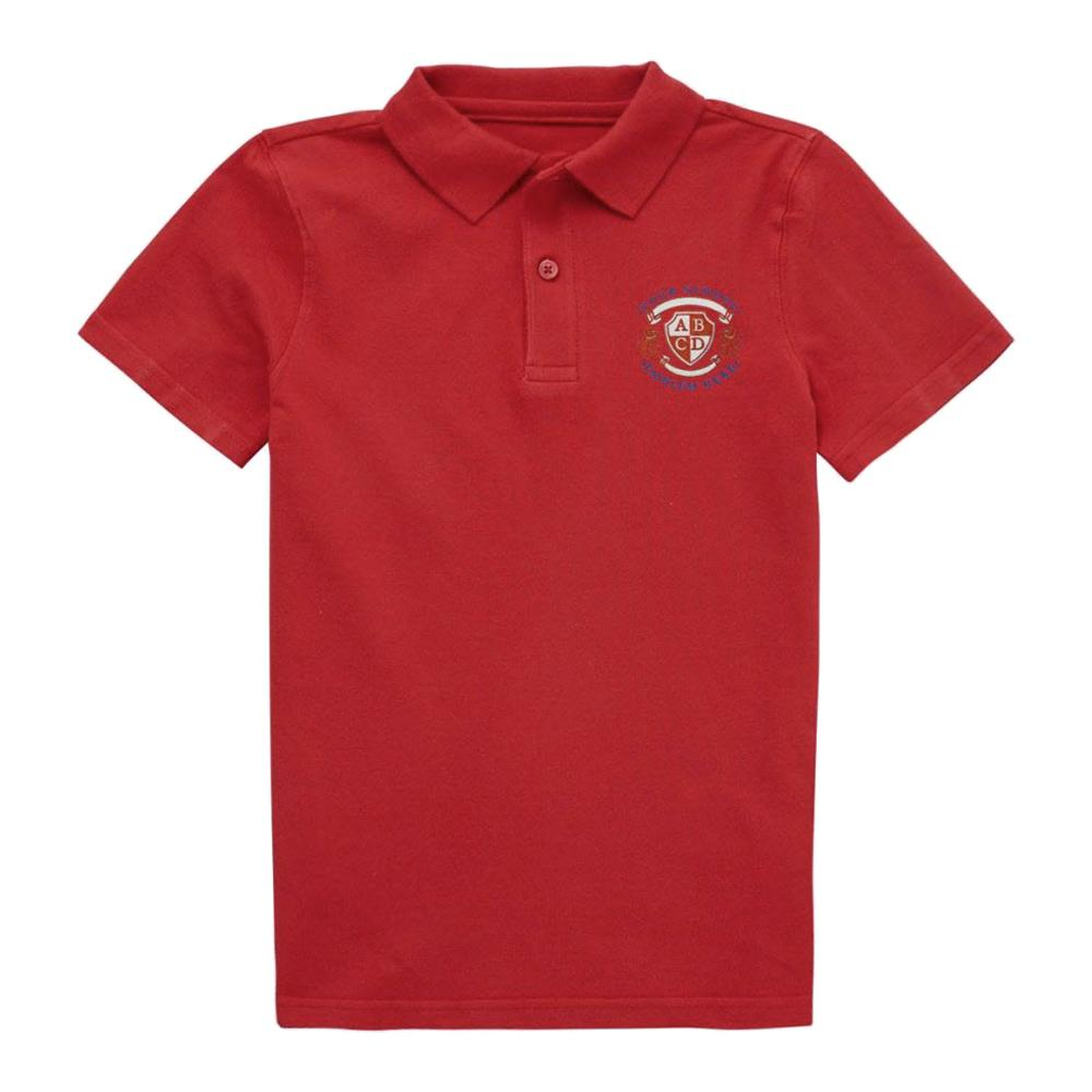 St Cuthberts Nursery Polo Shirt - Red