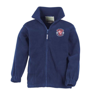 St Raphaels R C School Fleece - Royal Blue
