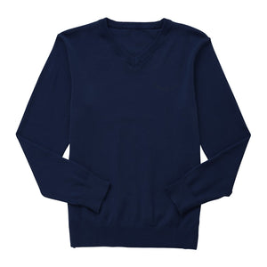 St Joseph's Catholic Primary School-V neck jumper navy - No logo available on this product