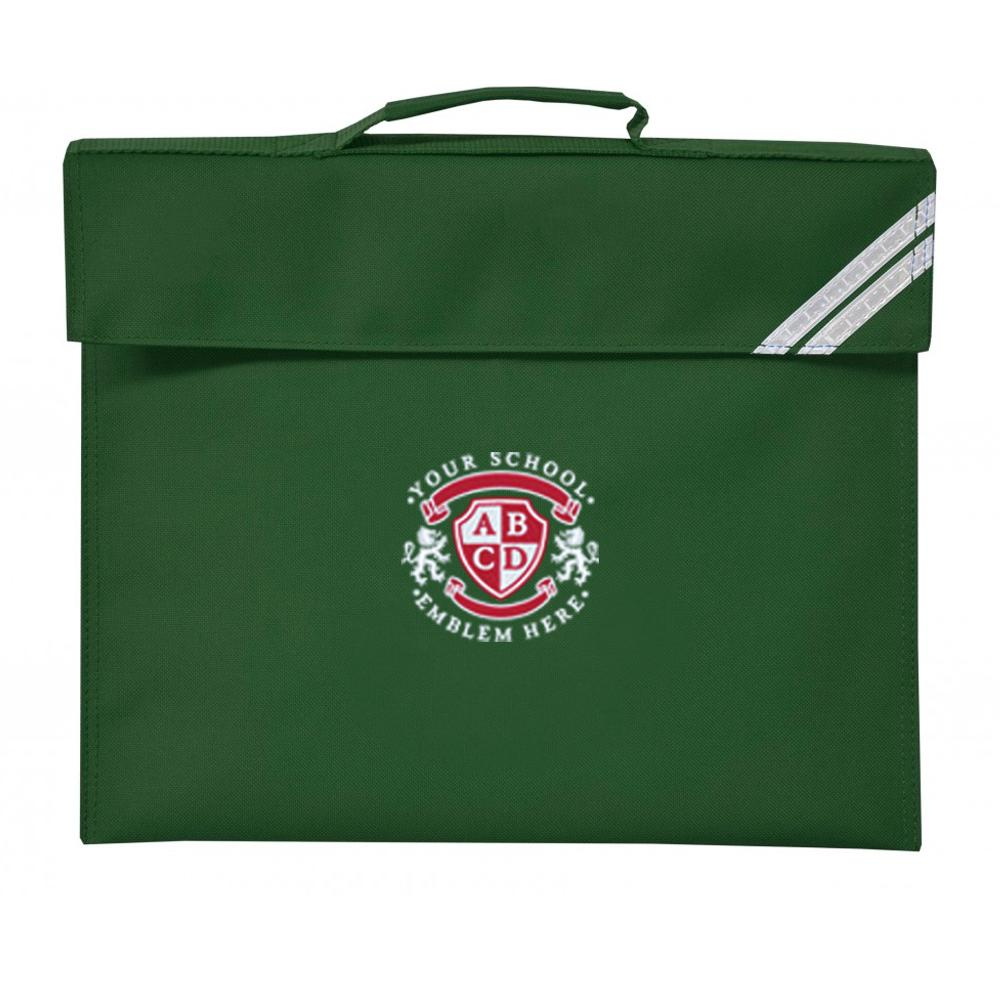St Columba's Primary School Book Bag - Bottle Green