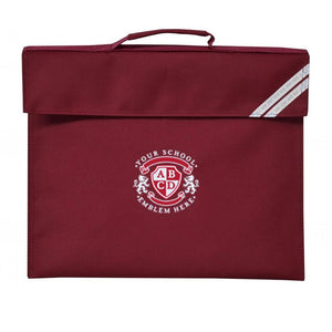 St Cuthberts Primary School Book Bag - Maroon