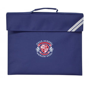 St Marys CP School Southam Book Bag - Navy