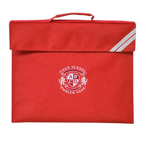 Leamington Hastings Academy Book Bag - Red