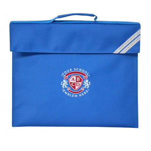 The Bythams Primary School Book Bag - Royal Blue