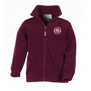 St Cuthberts Primary School Fleece - Maroon