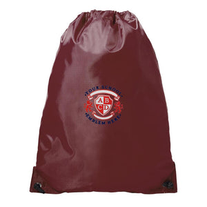 St Cuthberts Primary School PE Bag - Maroon