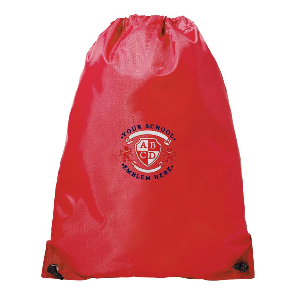 Leamington Hastings Academy PE Bag - Red