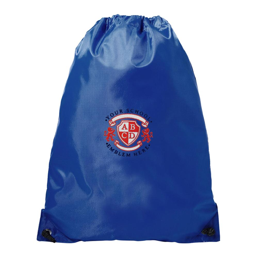 St Raphaels R C School PE Bag - Royal Blue