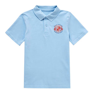 Sacred Heart Primary School Polo Shirt - Sky Blue