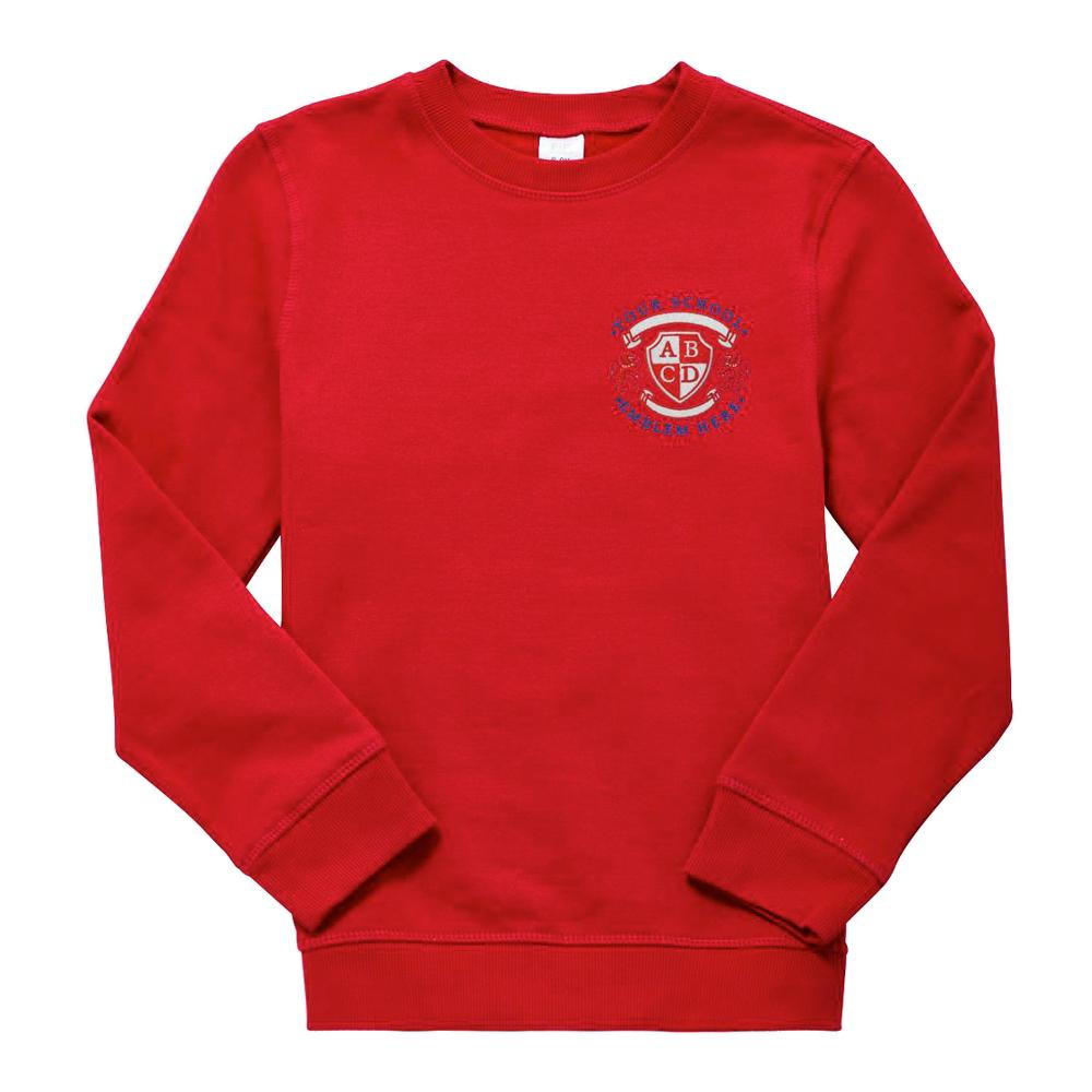 Methven Primary School Sweatshirt - Red