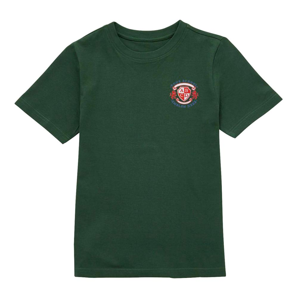 Pendragon Community Primary School T-Shirt - Bottle Green