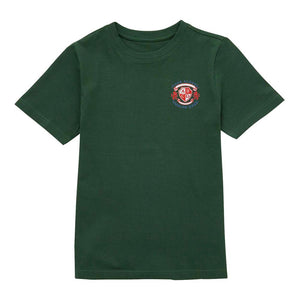 Cronk y Berry Primary School T-Shirt - Bottle Green