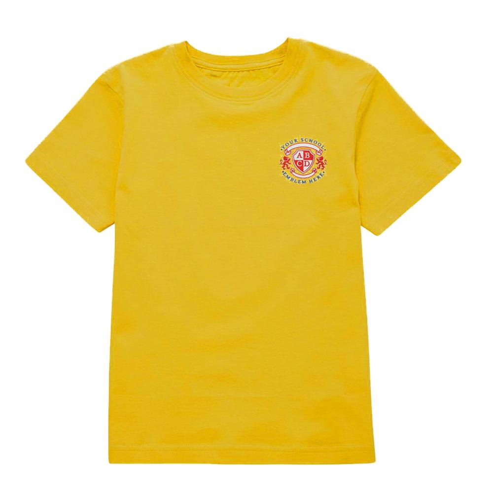 Stalyhill Infant School T-Shirt - Gold