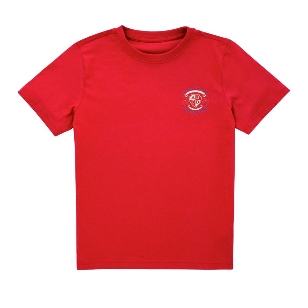 Pendragon Community Primary School T-Shirt - Red