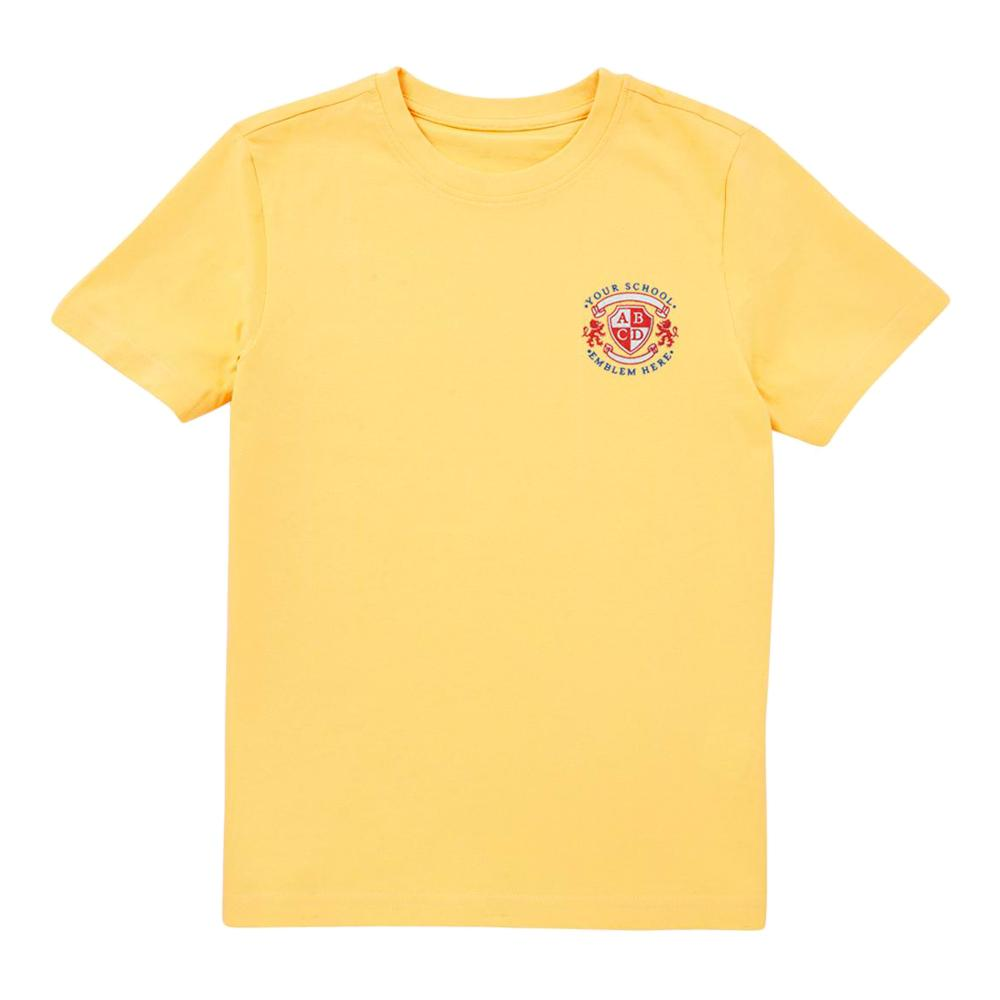 Cronk y Berry Primary School T-Shirt - Yellow