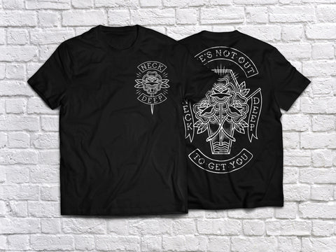 'Tattoo LNOTGY' T-Shirt - Black