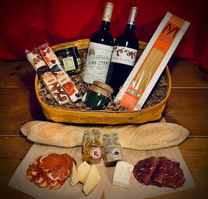 Gift Basket- Spanish Wine