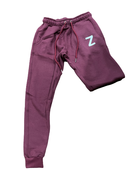 Womens Sweatpants - Burgundy