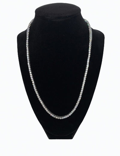Tennis Chain (3MM) - WHITE GOLD