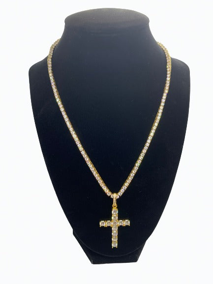 Tennis Chain (3MM) - YELLOW GOLD