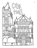 Color the Queen City Coloring Book - 6 coloring books