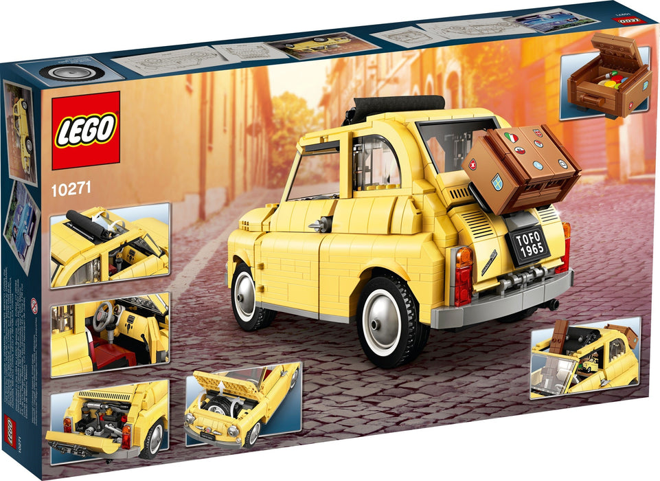 LEGO 10271 Fiat 500 won by Katie in Coventry