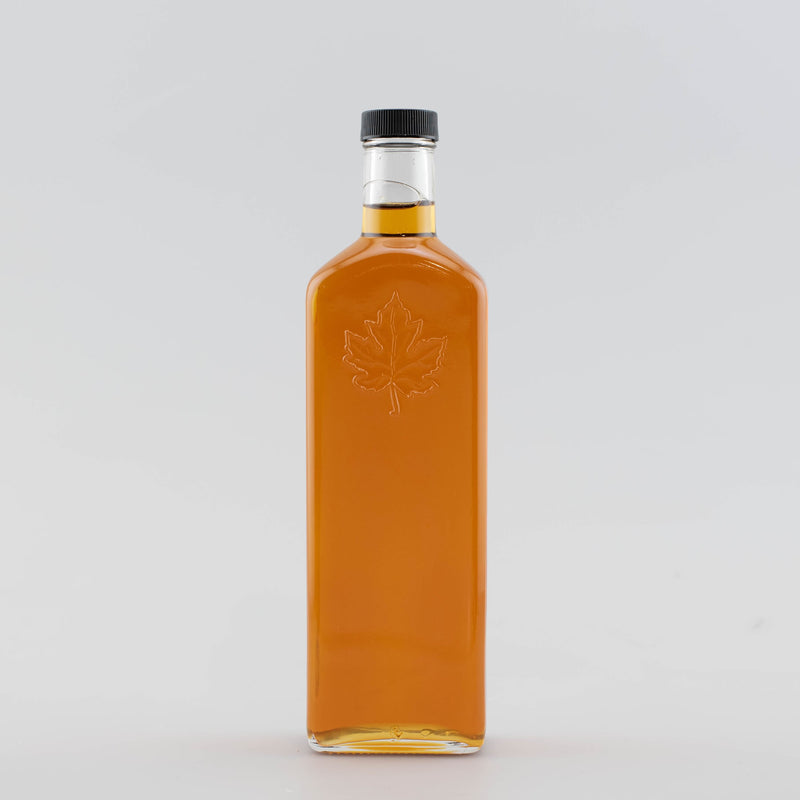 Pure Organic Maple Syrup - 500ml Glass Folia