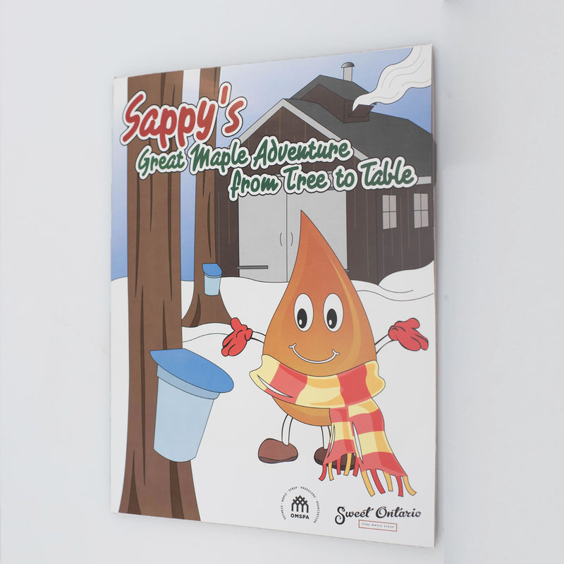 Sappy's Great Maple Adventure from Tree to Table