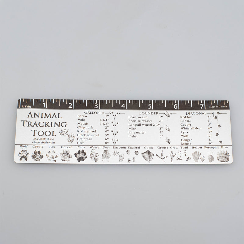 Silver Shingle - Animal Tracking Tool