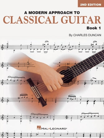 Modern Approach to Classical Guitar - Book 1