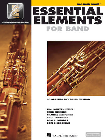 Essential Elements for Band - Bassoon Book 1 (w/EEi)