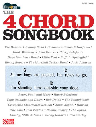 Four Chord Songbook - Strum & Sing