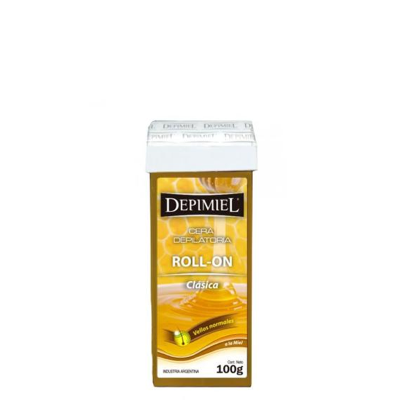 Cera Depilatoria Roll-on Depimiel Sistema Descartable 95gr
