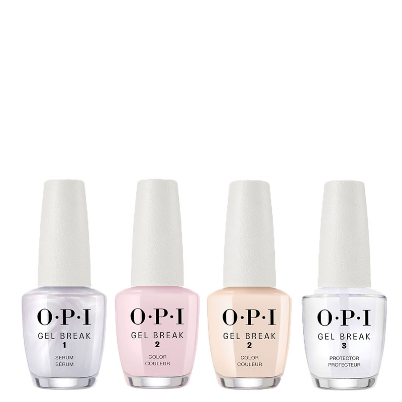 Combo OPI Gel break x 4
