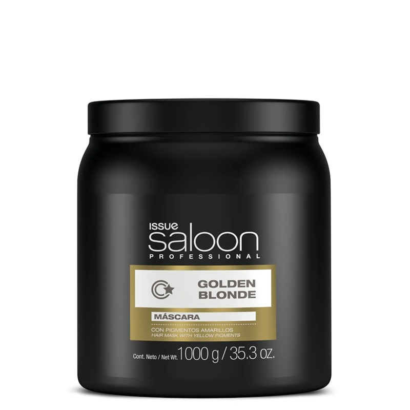 Máscara Issue Saloon Professional Golden Blonde 1000g