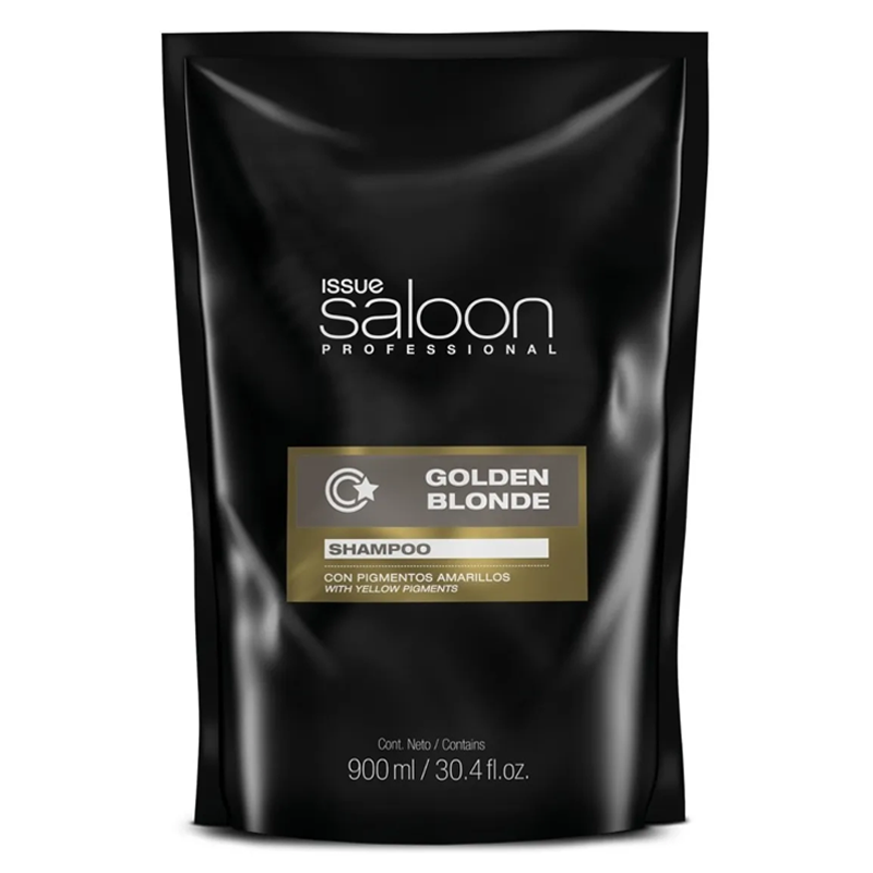 Shampoo Issue Saloon Professional Golden Blonde 900 ml